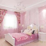 粉色甜美儿童房