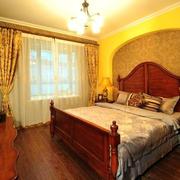 乡村美式范儿卧室