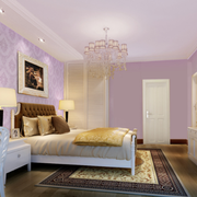 浪漫简洁卧室设计