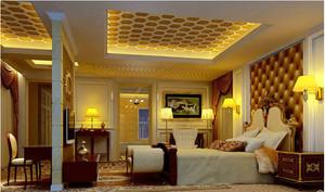 2015欧式卧室壁纸装修效果图