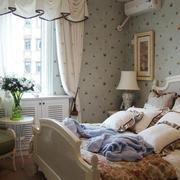 卧室简欧风格窗帘