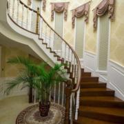 家庭别墅旋转楼梯效果图