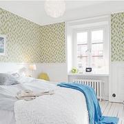 绿色自然卧室