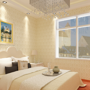 米白色卧室壁纸