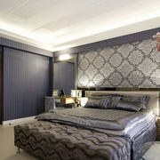 时尚卧室背景墙