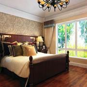自然淳朴美式卧室