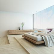 错层式的卧室设计
