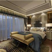日式时尚的大卧室