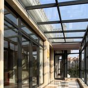 别墅玻璃走阳台吊顶