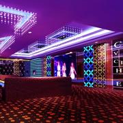 紫色梦幻的KTV展示