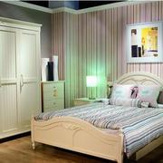 清新卧室装潢欣赏