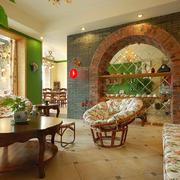 田园欧式风格客厅