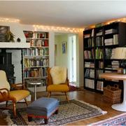 现代唯美的书柜