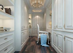 单身公寓时尚大方的现代都市衣帽间装修效果图