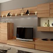 精致实木电视柜装修效果图
