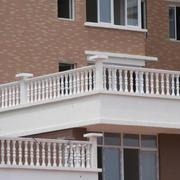 白色时尚别墅阳台