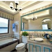 卫生间浅蓝色装饰