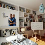 儿童房大型书柜