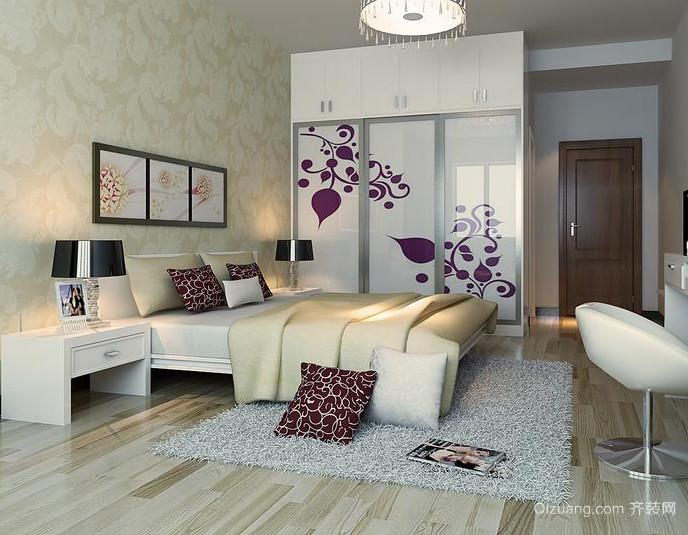 2015大户型小资情调的现代都市卧室装修效果图