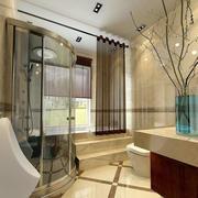 卫生间优雅装潢设计