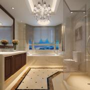现代别墅时尚卫生间