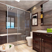 卫生间玻璃隔断欣赏