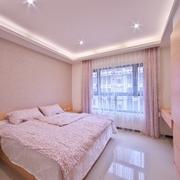 卧室粉色墙面展示