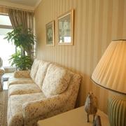 房屋客厅沙发背景壁纸