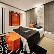 卧室生态木地板展示