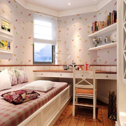 家居甜美卧室壁纸