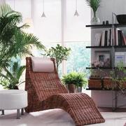 客厅休闲藤椅沙发