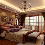 美式风格的卧室欣赏