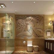 卫生间瓷砖雕刻欣赏