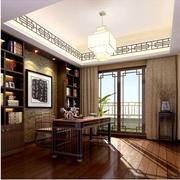 新中式家居书房书柜
