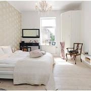 北欧纯白色卧室