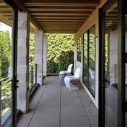 阳台生态木吊顶展示
