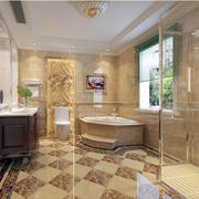 卫生间地板瓷砖欣赏