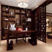 中式博古架书柜