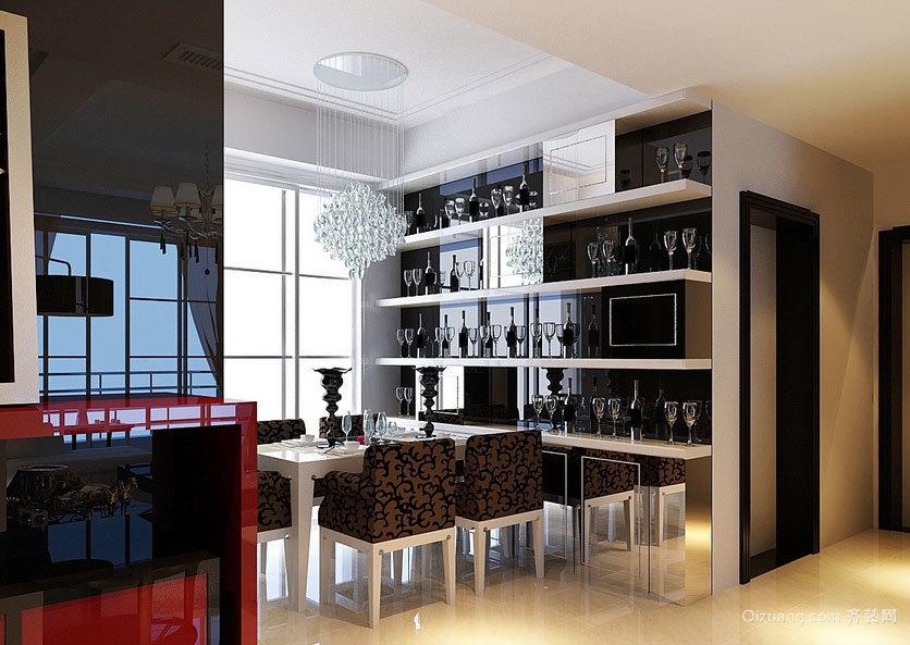 2015十足高贵的大户型欧式酒柜装修效果图
