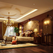 别墅大奢华卧室