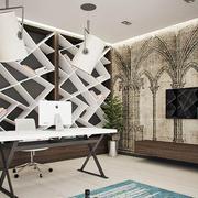 现代精致书房装修效果图
