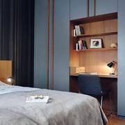 卧室隐形小书房设计