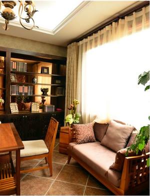 开放式书房书柜