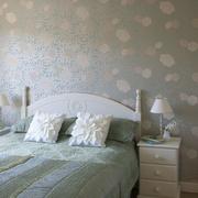 清新自然的卧室图片