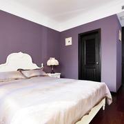 卧室紫色墙面装潢