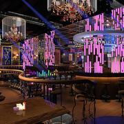 酒吧吧台灯饰图片