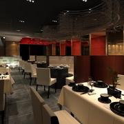火锅店精致餐桌椅