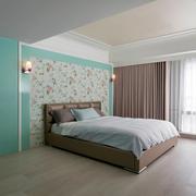 现代清新卧室图片