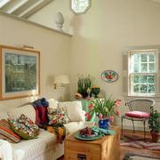 房屋阁楼花束装饰
