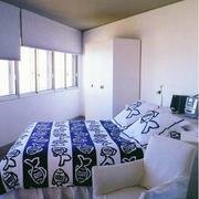 简约现代宾馆卧室